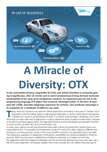 A Miracle of Diversity OTX