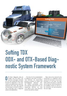 Softing TDX: ODX- and OTX-Based Diagnostic System Framework