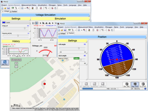 Softing PEA - Measuring software for recording and visualization of measurement data