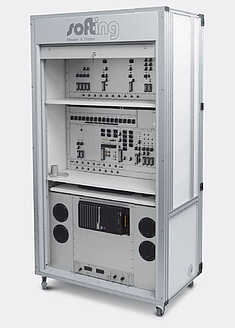 Example of Customer-Specific Telematics Cabinet