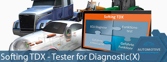 [Translate to Deutsch:] Softing TDX - Tester for Diagnostic(X)