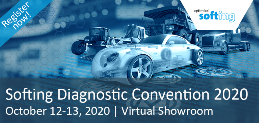 Softing Diagnostic Convention 2020 | October 12-13, 2020 | Virtual and Safe