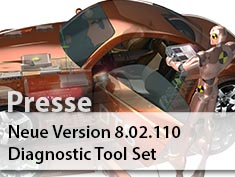 Softing Automotive Electronics veröffentlicht neue Version des Diagnostic Tool Sets.