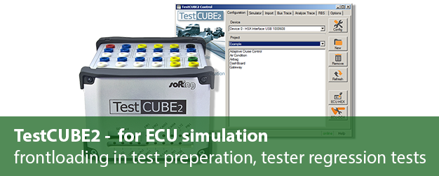 [Translate to Deutsch:] TestCube: ECU Simulation
