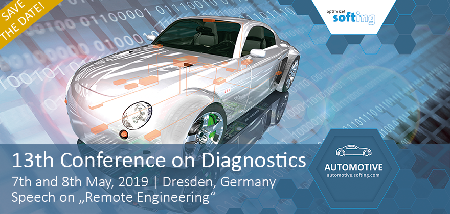Softing Automotive at the 13th Conference on Diagnostics 2019