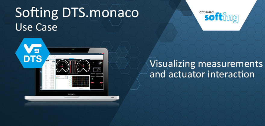 Softing DTS.monaco: visualizing measurements