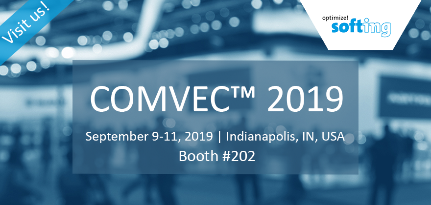 Visit Softing at COMVEC 2019!