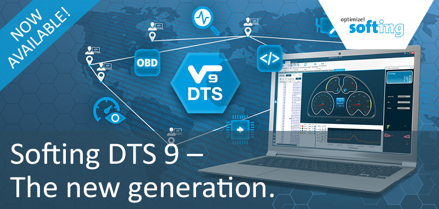 Softing DTS 9 - the new generation