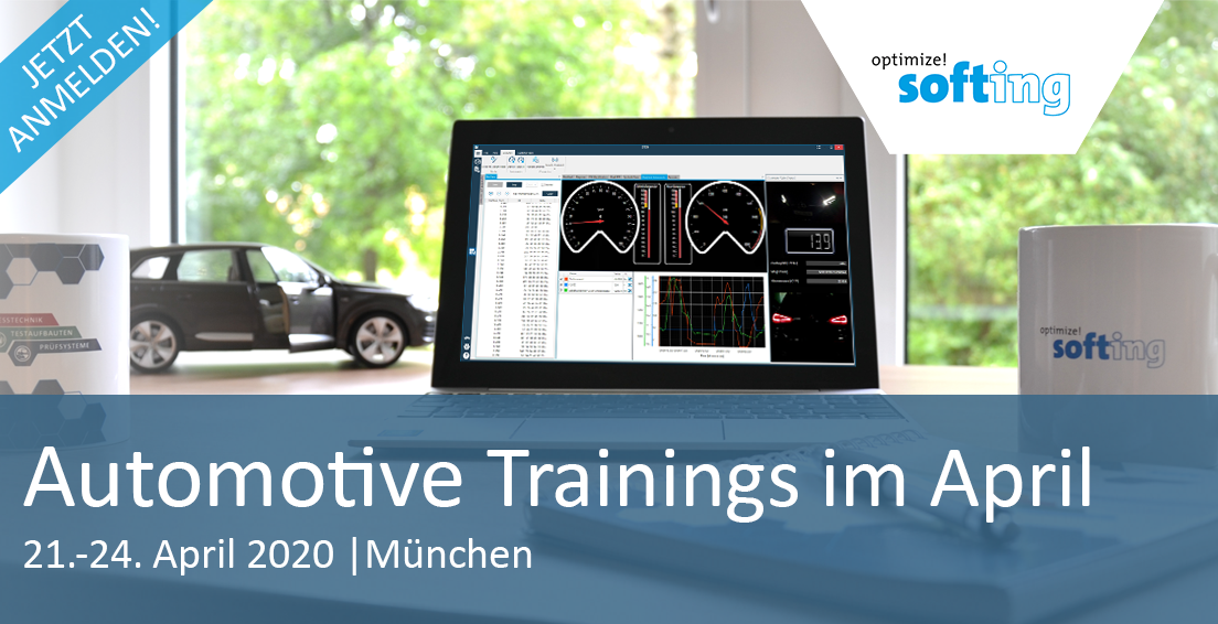 Termine Automotive Trainings April 2020