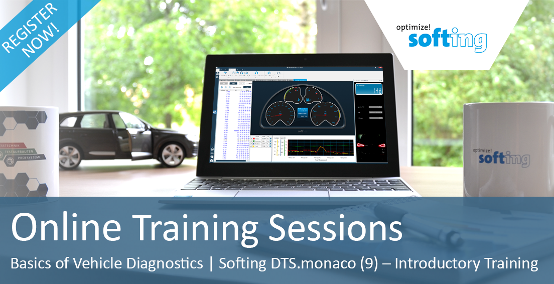 Online Training Sessions by Softing Automotive