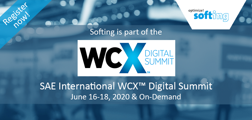 Softing @ WCX Digital Summit 2020
