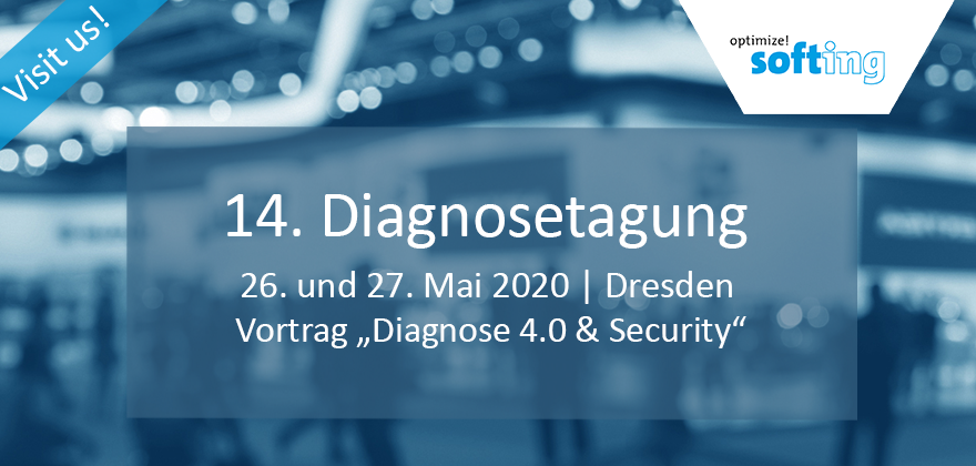 Softing Automotive @ 14. Diagnosetagung 2020