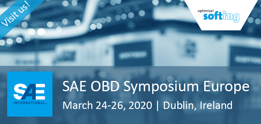 Softing @ SAE On-Board Diagnostics Symposium 2020