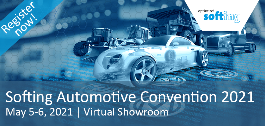 "Invitation to the Virtual ""Softing Automotive Convention"" 