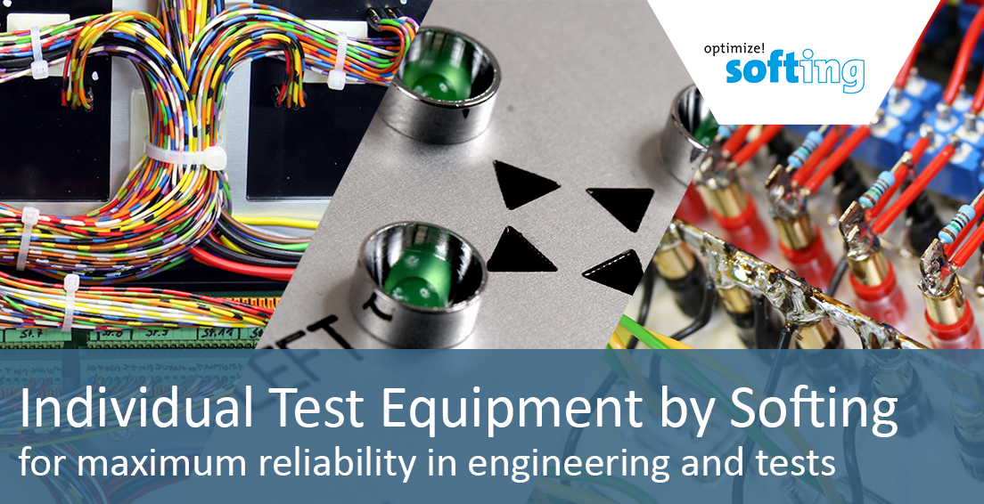 Test Equipment by Softing