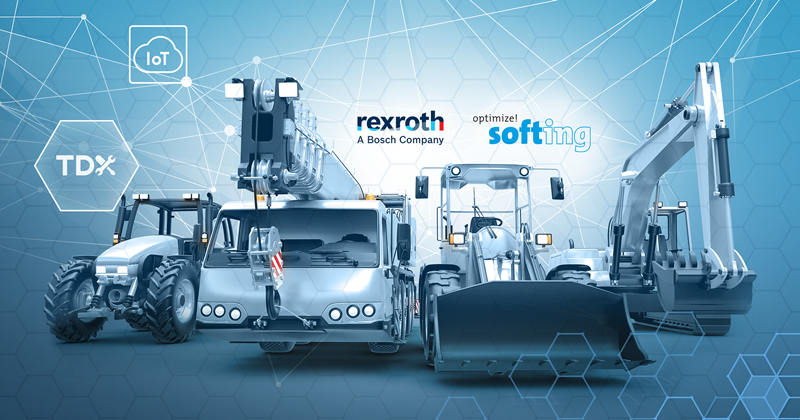 Success Story Bosch Rexroth: Intelligent Diagnostics for Mobile Electronics and Machines of the Future