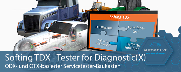 Softing TDX - Tester for Diagnostic(X)