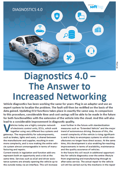 Diagnostics 4.0 - The Answer To Increased Networking