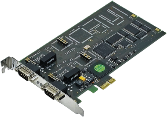 CAN-PRO2-PCIE - CAN Bus PCIexpress Interface for Vehicle Electronics