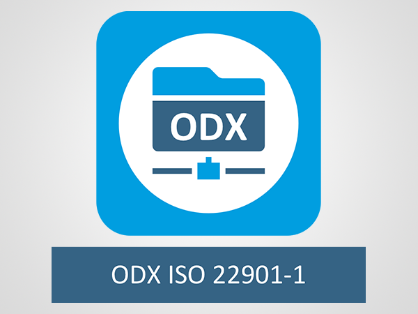 [Translate to Chinesisch:] ODX (ISO 22901-1)