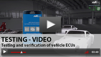 Softing Automotive Video - Testing and verification of vehicle ECUs
