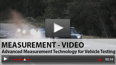 Advanced Measurement Technology for Vehicle Testing